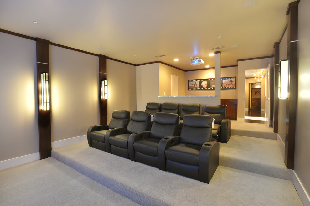 Folsom Theater for Contemporary Home Theater with Folsom