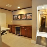 Folsom Theater for Contemporary Home Theater with Lookout Basement