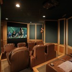 Folsom Theater for Traditional Home Theater with Mountain Lodge
