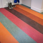 Forbo for Contemporary Entry with Natural Linoleum