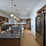 Forbo for Contemporary Kitchen with Pendant Lighting