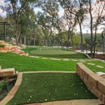 Fox Hills Golf Course for Traditional Landscape with Retaining Wall