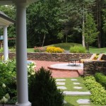 Fox Hills Golf Course for Traditional Landscape with Stacked Stone