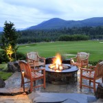 Fox Hills Golf Course for Traditional Patio with Hills
