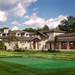Fox Hills Golf Course for Transitional Landscape with Front Yard