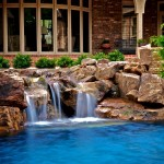 Fox Hills Golf Course for Transitional Pool with Edmond Pool Builder