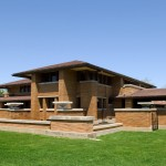 Frank Lloyd Wright Oak Park for Craftsman Exterior with Handcrafted