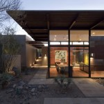 Frank Lloyd Wright Phoenix for Southwestern Exterior with Outdoor Lighting