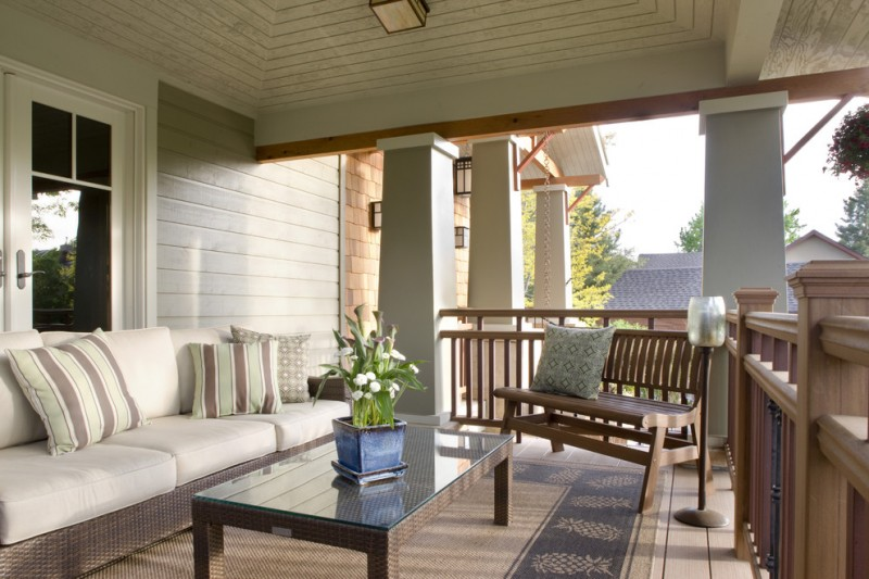 Front Porch Denver for Craftsman Porch with Garden Seating