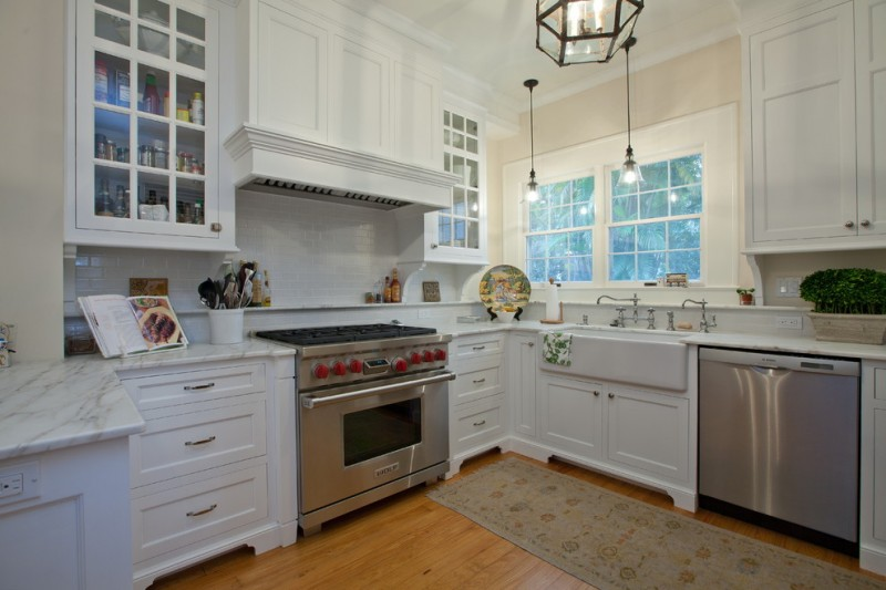 Front Range Lumber for Traditional Kitchen with Farmhouse Sink
