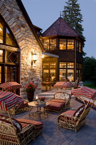 Gabberts Furniture for Traditional Patio with Old World
