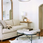 Gabby Furniture for Transitional Living Room with Drum Pendant Light