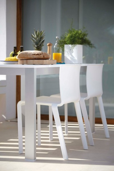 Gandia Blasco for Scandinavian Spaces with White Chair