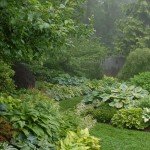 Garden Crossings for Traditional Landscape with Sinuous Path