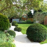 Garden Crossings for Transitional Landscape with North London Garden Design