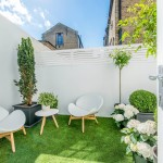 Gardiners Furniture for Contemporary Patio with Terrace Garden