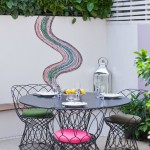 Gardiners Furniture for Contemporary Patio with Wire Chairs
