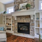 Garman Builders for Farmhouse Family Room with Stone