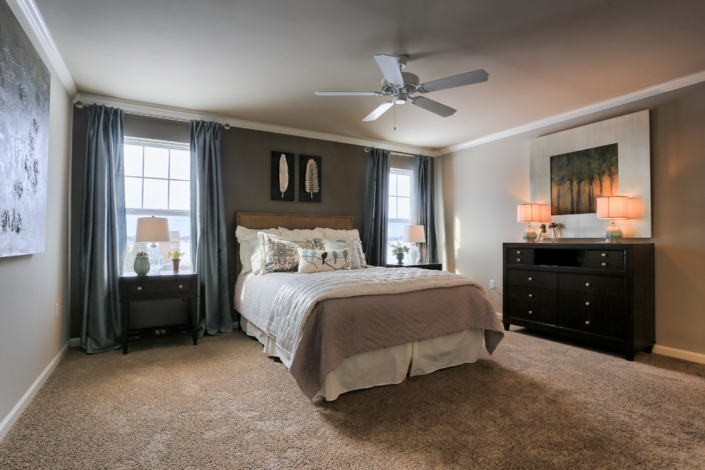 Garman Builders for Traditional Bedroom with Ceiling Fans