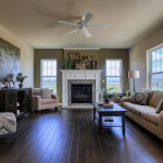 Garman Builders for Traditional Family Room with Ceiling Fans