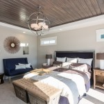 Garman Homes for Transitional Bedroom with Accent Wall