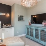 Garman Homes for Transitional Home Bar with Interior Trim