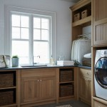 Gas Dryer vs Electric for Beach Style Laundry Room with Soapstone Countertop