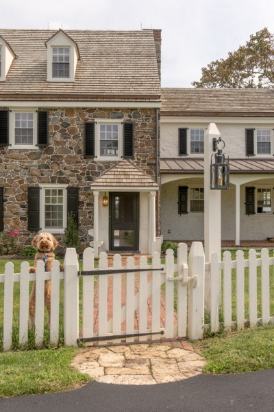 Graber Post Buildings for Farmhouse Exterior with Front Walkway
