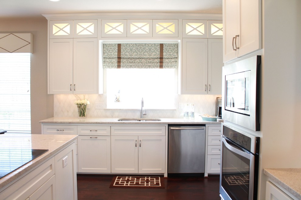 Grandview Heights Schools for Traditional Kitchen with White Kitchen