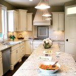 Granite Imports for Contemporary Kitchen with Kitchen Island