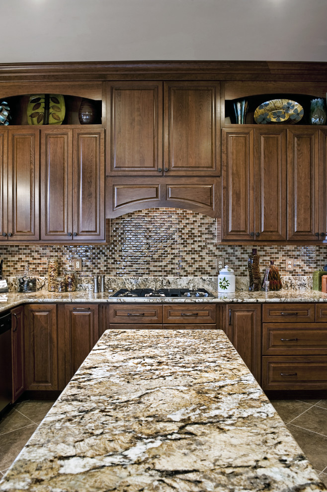 Granite Run Gmc for Traditional Kitchen with Rangetop
