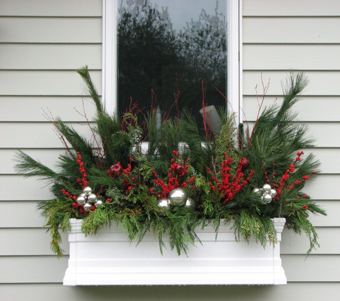 Green Demolitions for Traditional Landscape with Christmas Decor