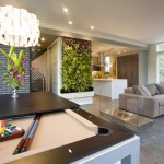 Green Thumb Ventura for Modern Family Room with Convertible Pool Table