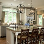Greenfront Furniture for Traditional Kitchen with Kitchen Curtains