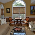 Greenfront Furniture for Transitional Sunroom with Jordan
