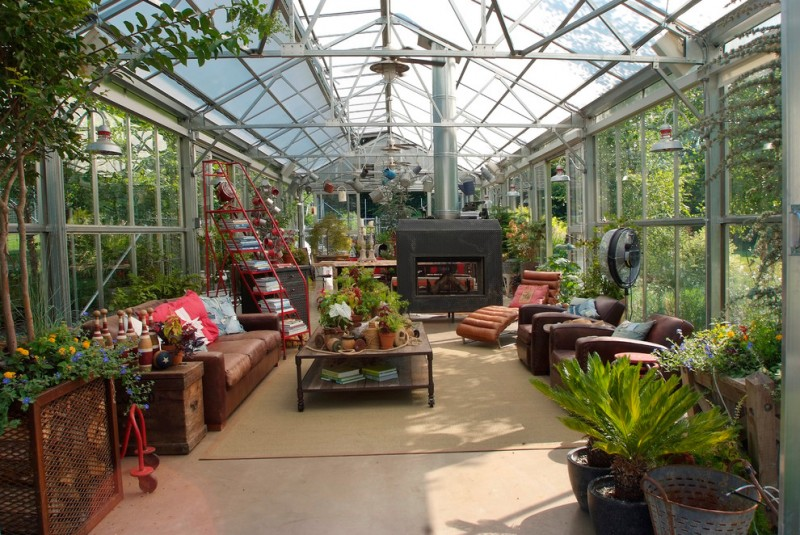 Greenhouse Fabrics for Industrial Shed with Groundswell Design Group