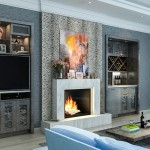 Greige Paint for Eclectic Living Room with Home Theater