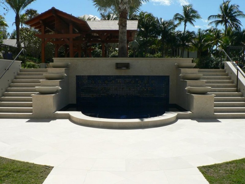 Griffin Pools for Mediterranean Exterior with Jacksonville Florida