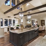 Grimesland Nc for Traditional Kitchen with Dark Wood Cabinets