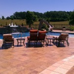 Grove Spa Springfield Mo for Traditional Pool with Walk in Steps