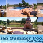 Grove Spa Springfield Mo for Traditional Pool with Wetcast Pavers