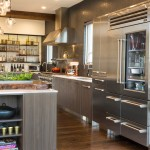 Growing Swiss Chard for Contemporary Kitchen with Transitional Kitchen