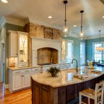 Gunnite for Traditional Kitchen with Glass Backsplash