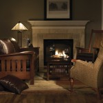 Gustav Stickley for Craftsman Living Room with Stickley