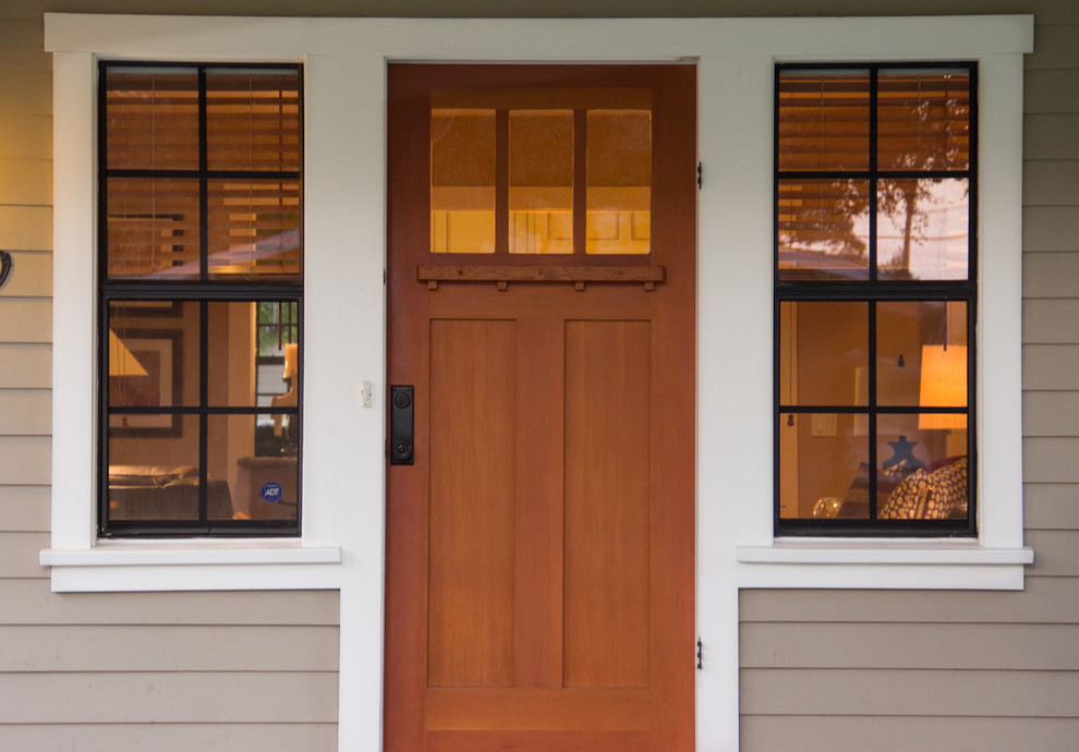 Gustav Stickley for Traditional Exterior with Wood