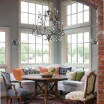Guy Chaddock for Shabby Chic Style Dining Room with Clerestory