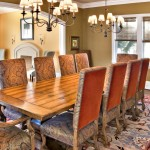 Guy Chaddock for Traditional Dining Room with Olive Walls