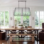 Guy Chaddock for Traditional Dining Room with Wood Dining Table