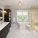 H2 Real Estate for Traditional Bathroom with Window Treatments
