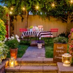 Hacienda Lighting for Traditional Patio with Rustic